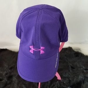 Under Armour Womens Purple Adjustable Back OSFA
